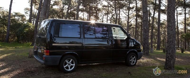 VW T4 Multivan Article sur le mode de vie en Van à travers la France. Video d'un Van Trip sur la côte Bordelaise à côté de Lacanau. CARE TRAVEL VANLIFE