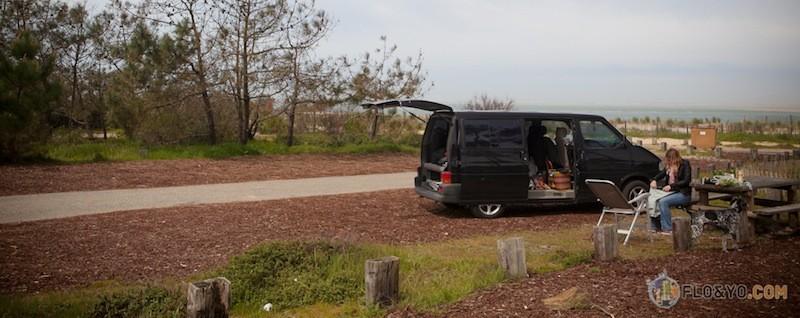 Trip en Van sur la côte Bordelaise Lacanau