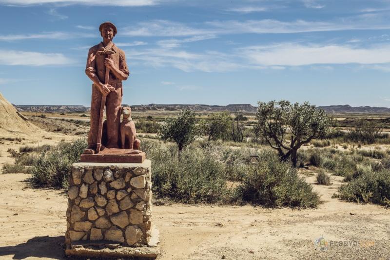 Van trip en Espagne : le désert des Bardenas