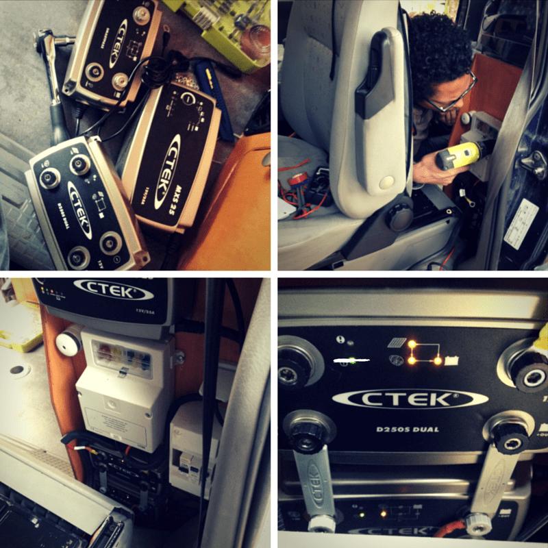 Aménagement : l'autonomie en eau et en électricité de notre VW T4 Syncro CTEK