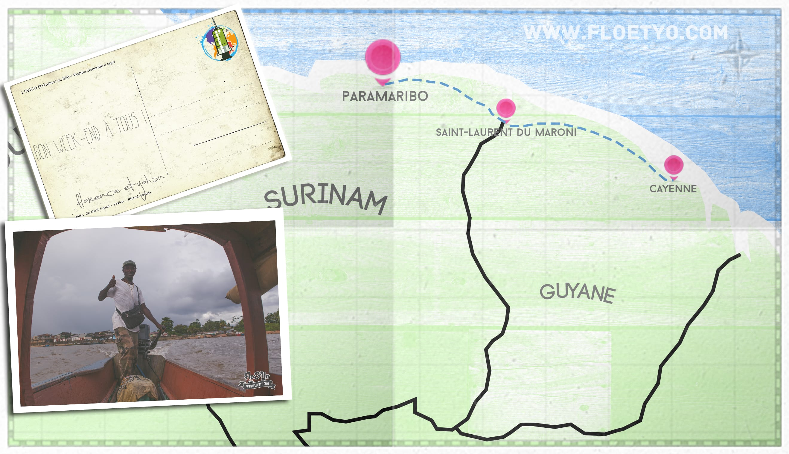 Passer un week-end à Paramaribo au Suriname !
